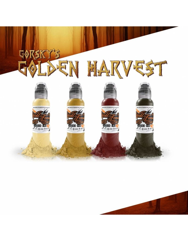 World Famous Gorsky's Golden Harvest Set - 1oz - 4x30ml