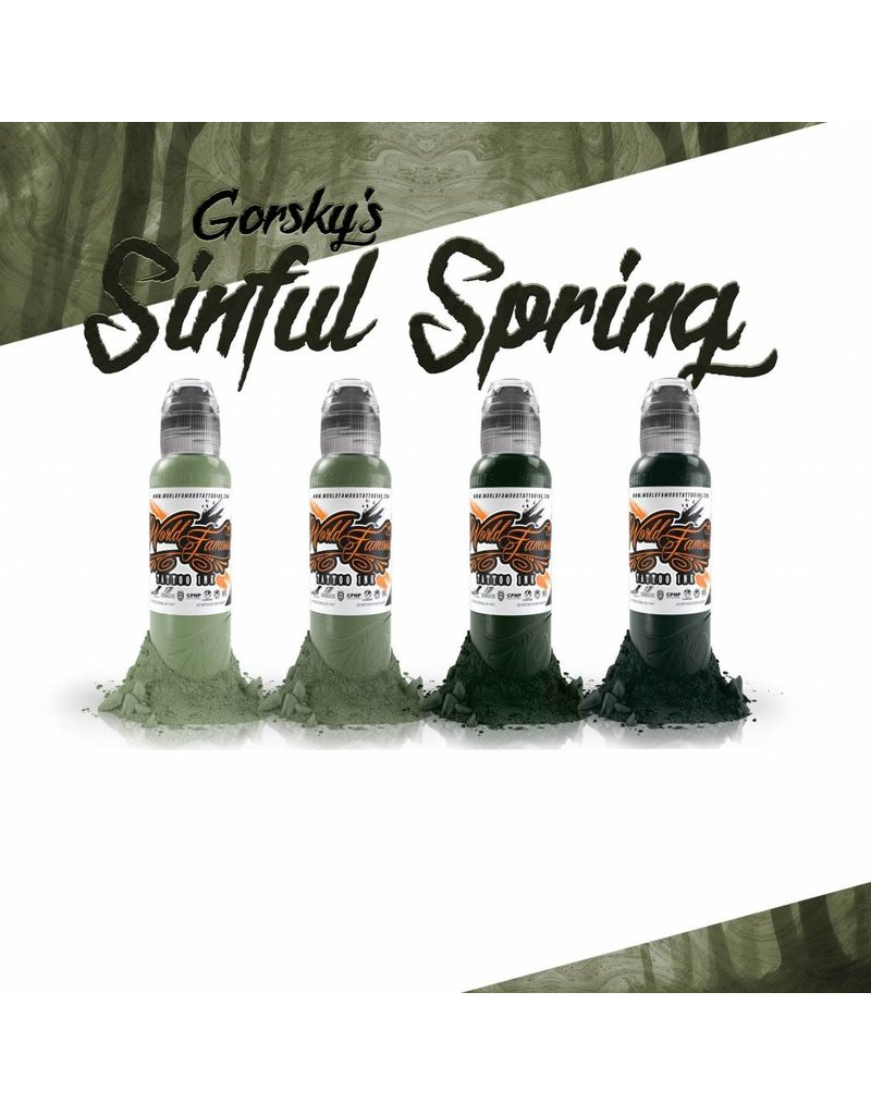 World Famous Gorsky's Sinful Spring Set - 1oz |  4x30ml