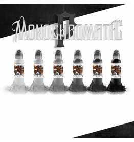 World Famous World Famous Poch's Monochromatic Tone Color Set | 6x30ml