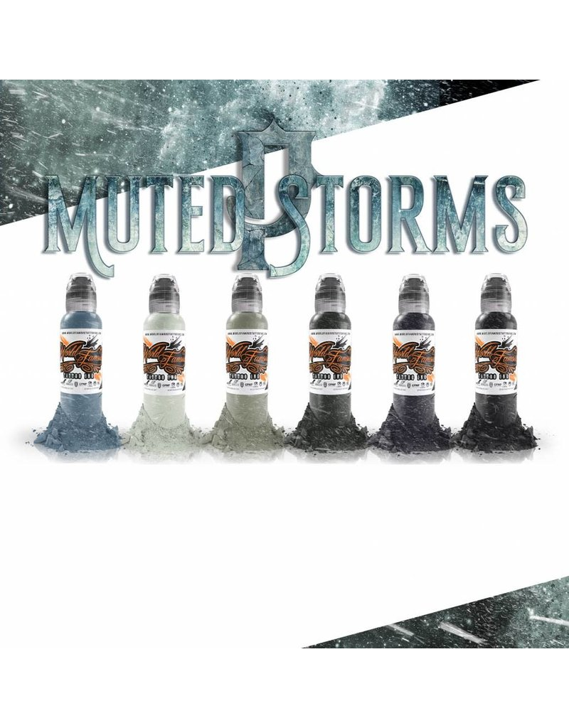 World Famous World Famous Poch's Muted Storms Set | 6x30ml