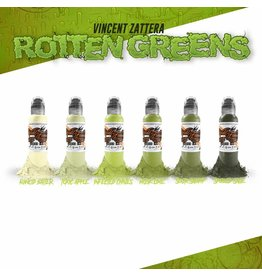 World Famous World Famous Vincent Zatter's Rotten Green Set | 6x30ml