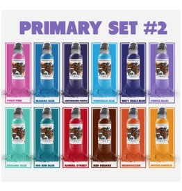 World Famous World Famous Primary Color Ink Set #2  | 12 x 30ml