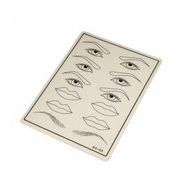 Practice Skin PMU Brows, Eyes & Lips
