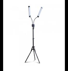 Double Lamp + Tripod | Adjustable Color & Power Temp.