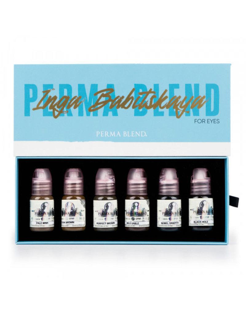 Perma Blend Perma Blend Inga Babitskaya Brow Set | 6 x 15ml