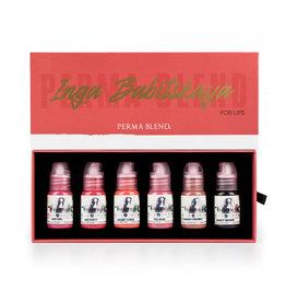 Perma Blend Perma Blend Inga Babitskaya Lip Set | 6 x 15ml