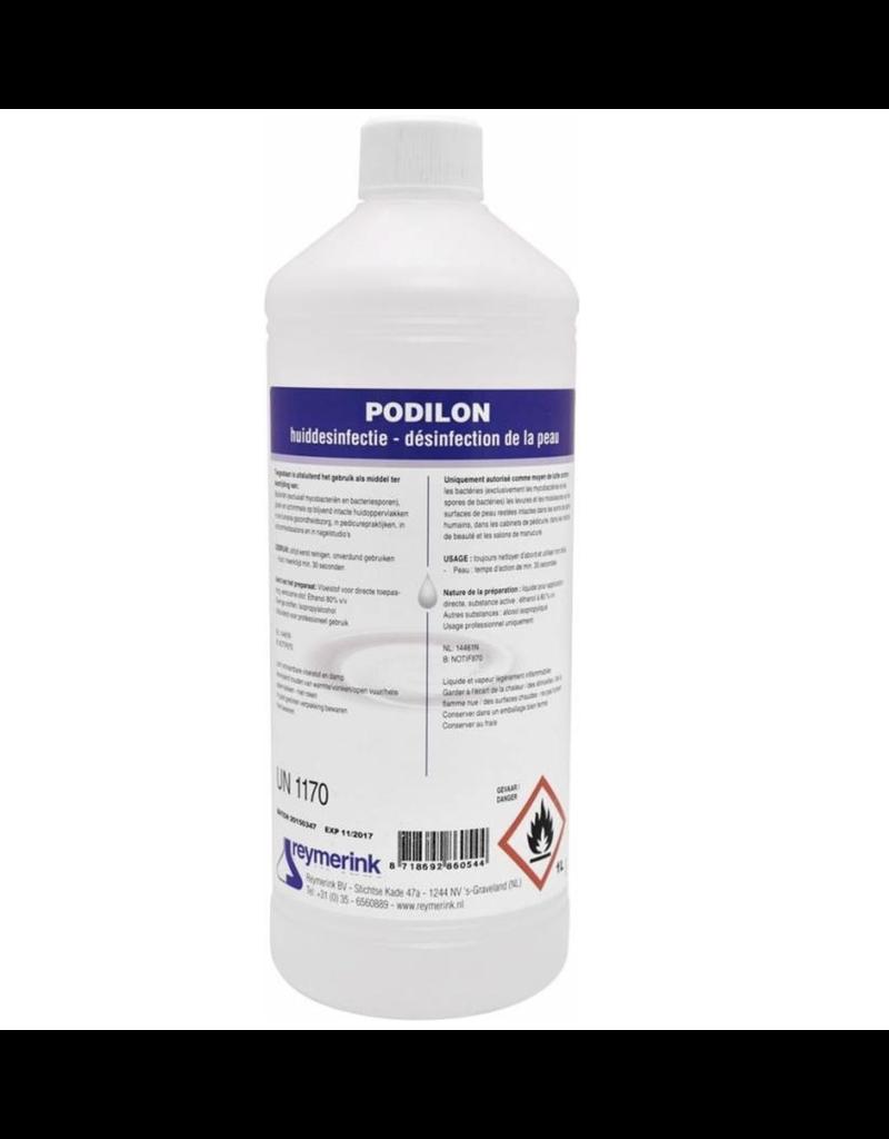 Podilon 80% Alcohol Skin Desinfection   1L