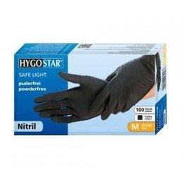 Hygostar Hygostar Nitrile Gloves  Black | 100pcs