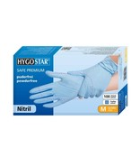 Hygostar Hygostar Nitrile Gloves  Blue   100pcs