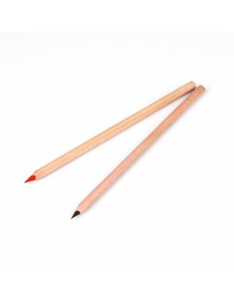 Face Pencil - Black, Brown or Red Color
