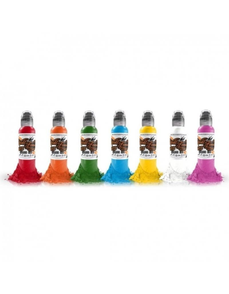 World Famous Primary Ink Set 7x30ml