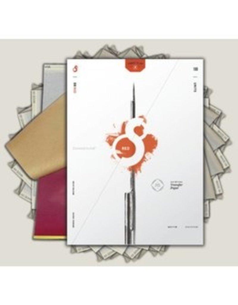 S8 S8 Red Stencil Transfer Paper single