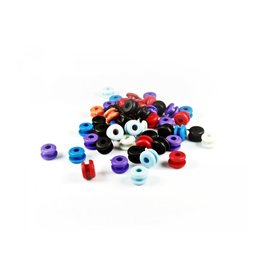 Grommets Mix Donut Shape| 100pcs