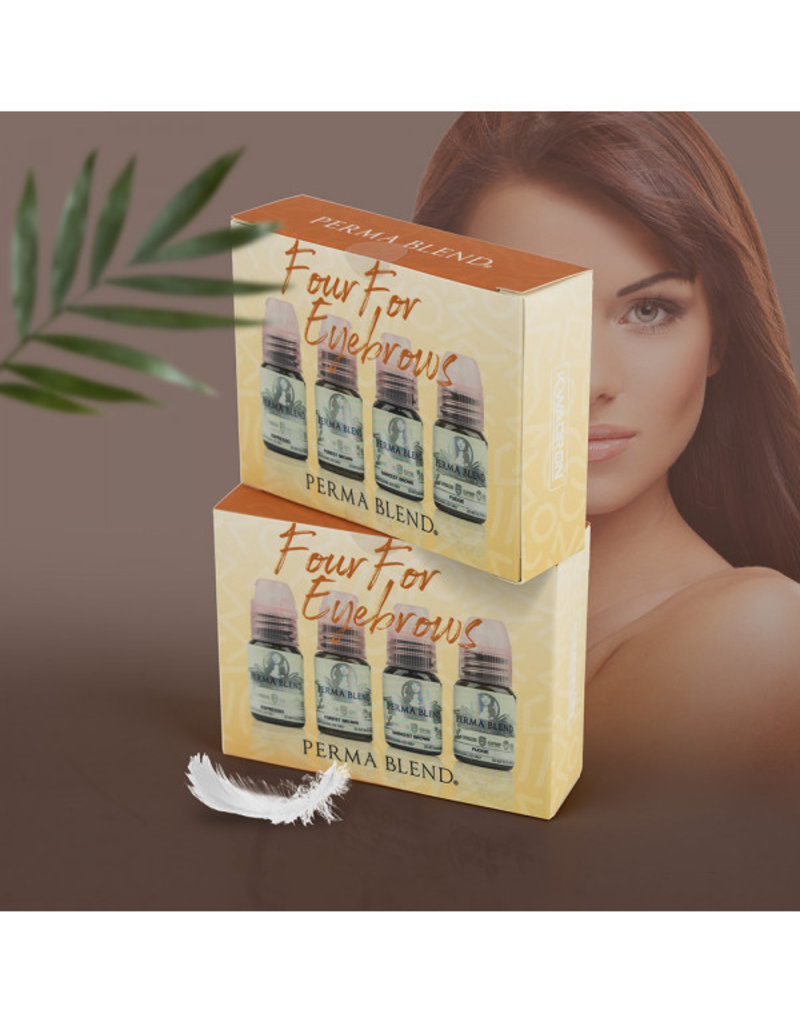 Perma Blend Perma Blend Four For Eyebrows | 4 x 15ml