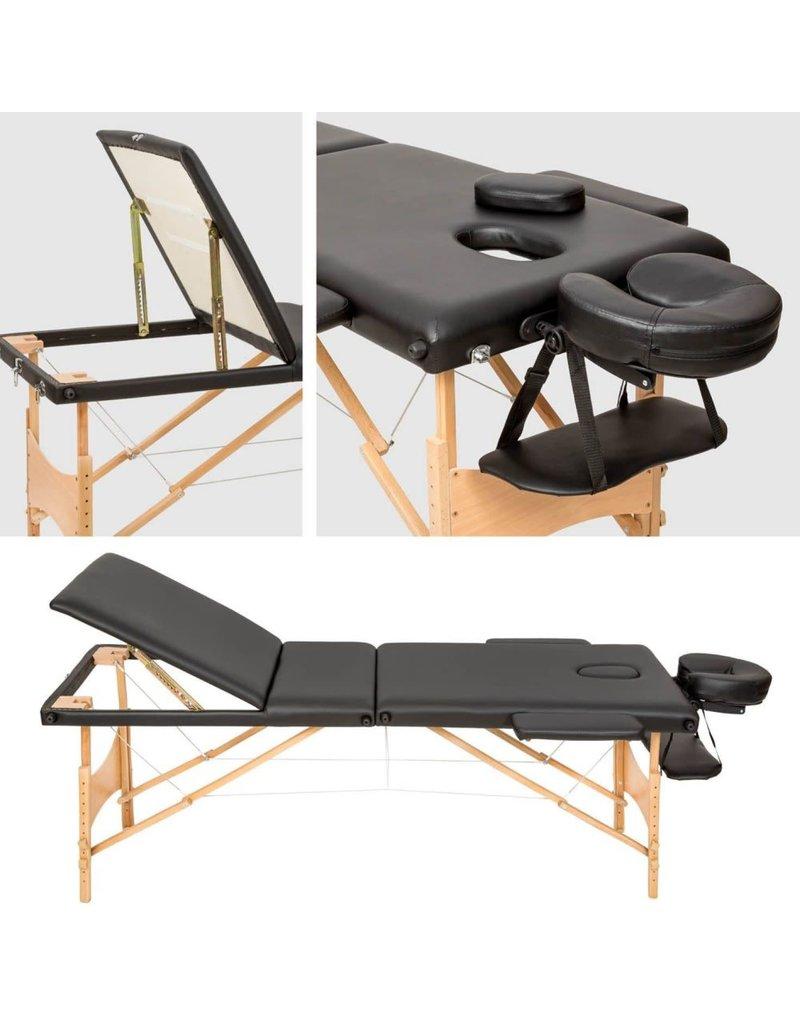Massagetable   Wooden Frame + travel bag