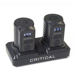 Critical CRITICAL BUNDLE - 2 universal batteries + battery dock RCA