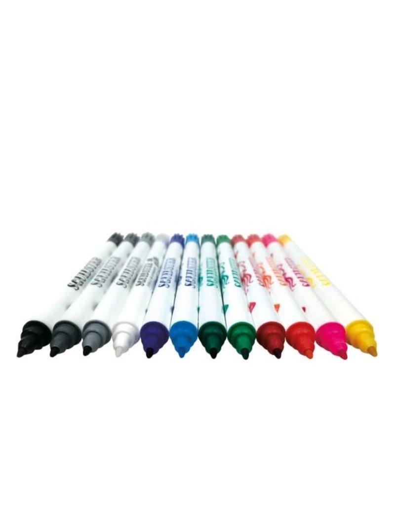 Squidster Squidster Skin Markers - SET 11 Colors + Eraser