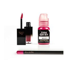 Perma Blend Perma Blend - Tina Davies ENVY Lip - Magenta Set - Ink+Blush+Pencil