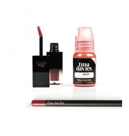 Perma Blend Perma Blend - Tina Davies ENVY Lip - Nude Set - Ink+Blush+Pencil