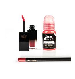 Perma Blend Perma Blend - Tina Davies LUST Lip -  PERFECT PINK Set - Ink+Blush+Pencil