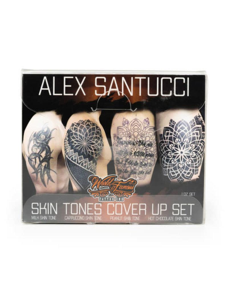 World Famous World Famous ALEX SANTUCCI Skin Tone SET