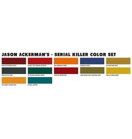 World Famous World Famous JASEON ACKERMAN SERIAL KILLER SET - 12x30ml