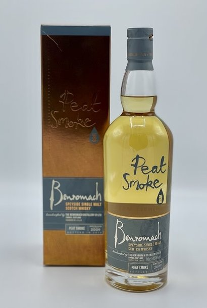 Benromach - Peat Smoke Old Style
