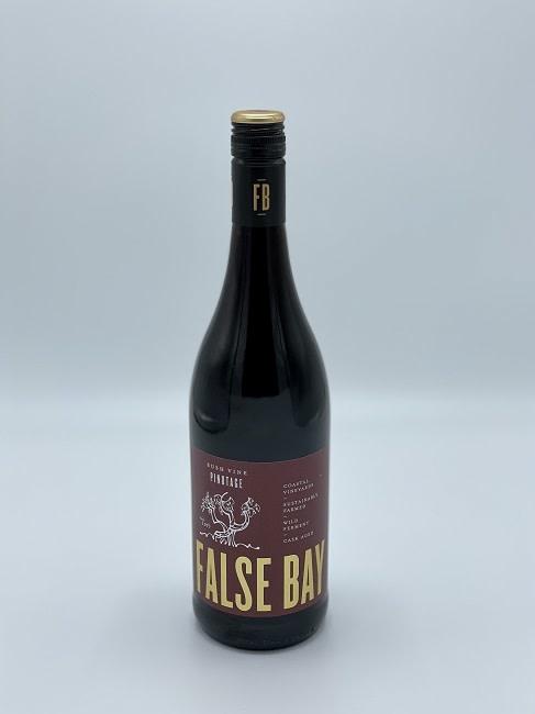 False Bay - Bushvine Pinotage-1