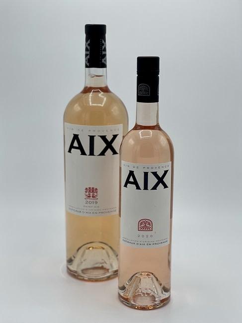 Maison Saint Aix - Coteaux d'Aix en Provence Rosé MAGNUM-2