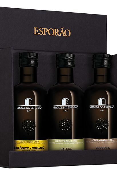 Herdade do Esporao - 3 Olijfolie in geschenkdoos