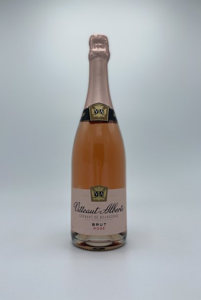 Vitteaut-Alberti - Cremant de Bourgogne Rosé Brut