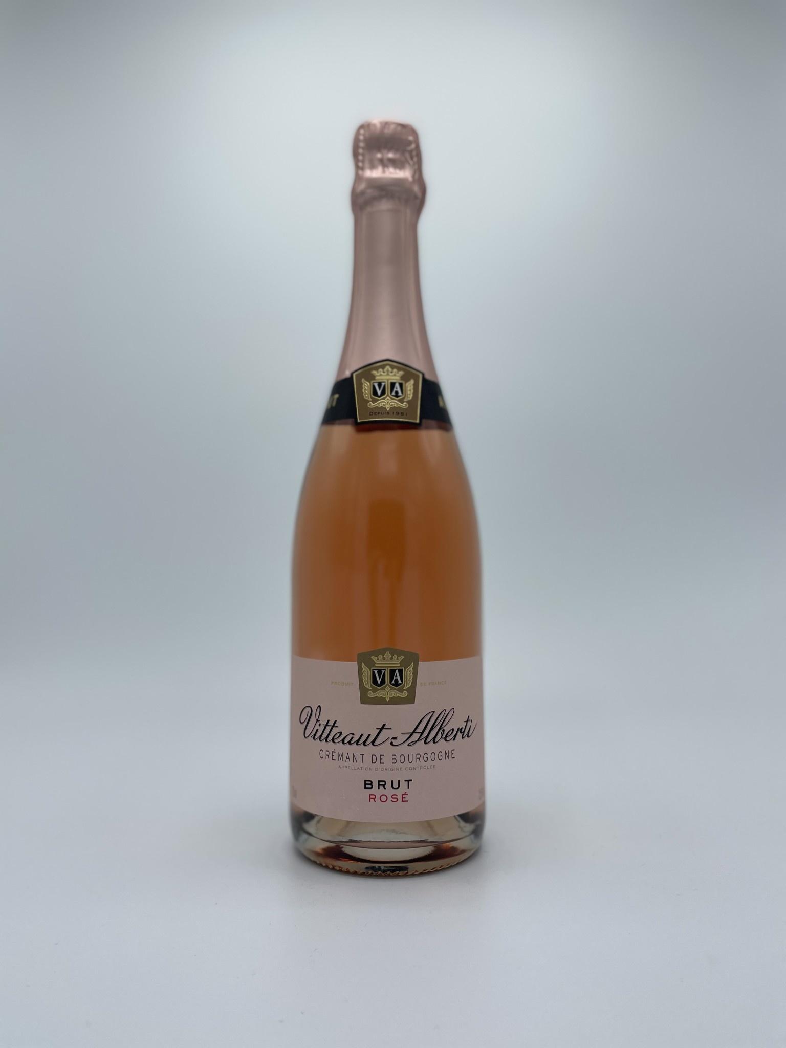 Vitteaut-Alberti - Cremant de Bourgogne Rosé Brut-1