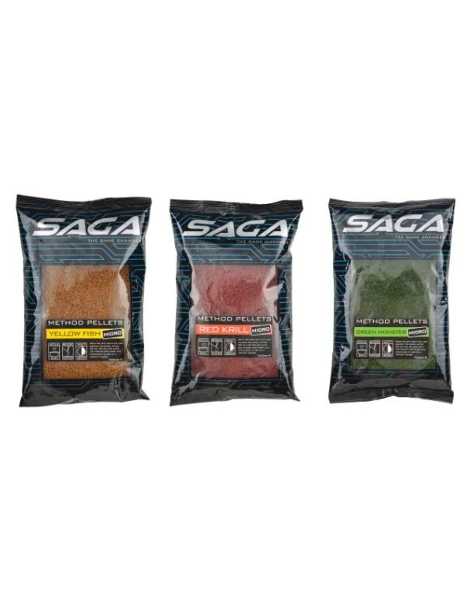 SAGA Saga Method Pellets