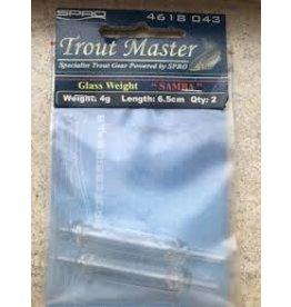 TROMA Spro Trout Master Glass Weight Samba