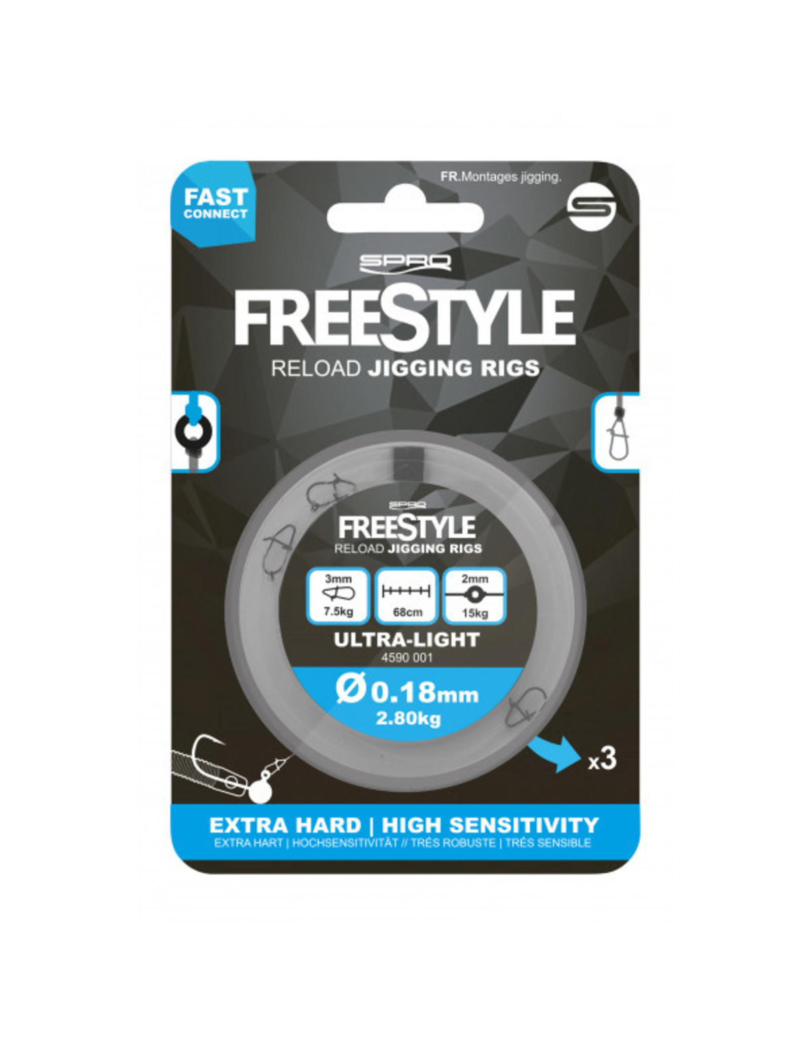 SPRO FreeStyle Reload Jig Rig