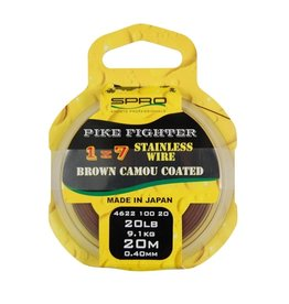 SPRO 1x7 Brown Coated Wire