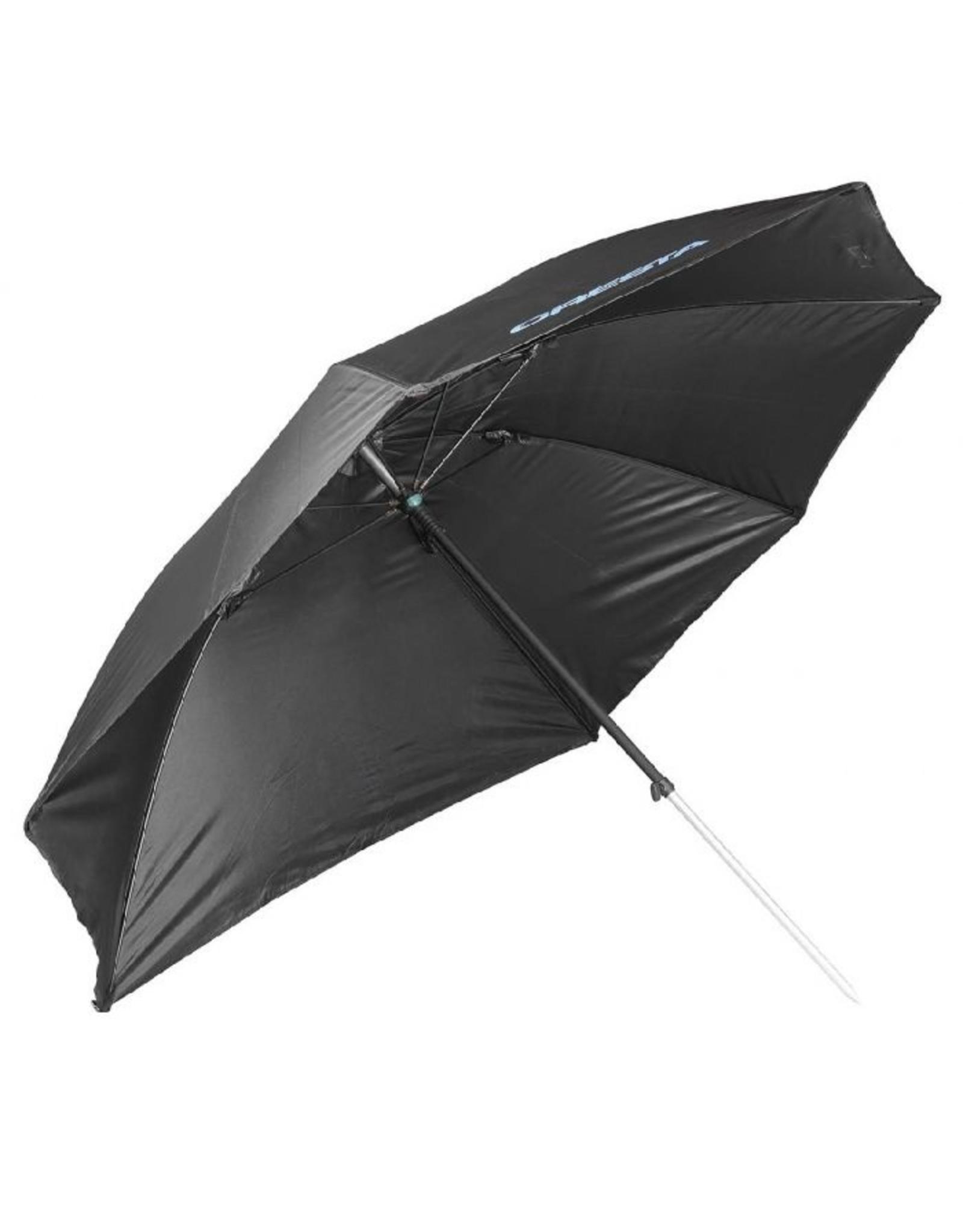 CREST Flat Side Umbrella Black 125Cm