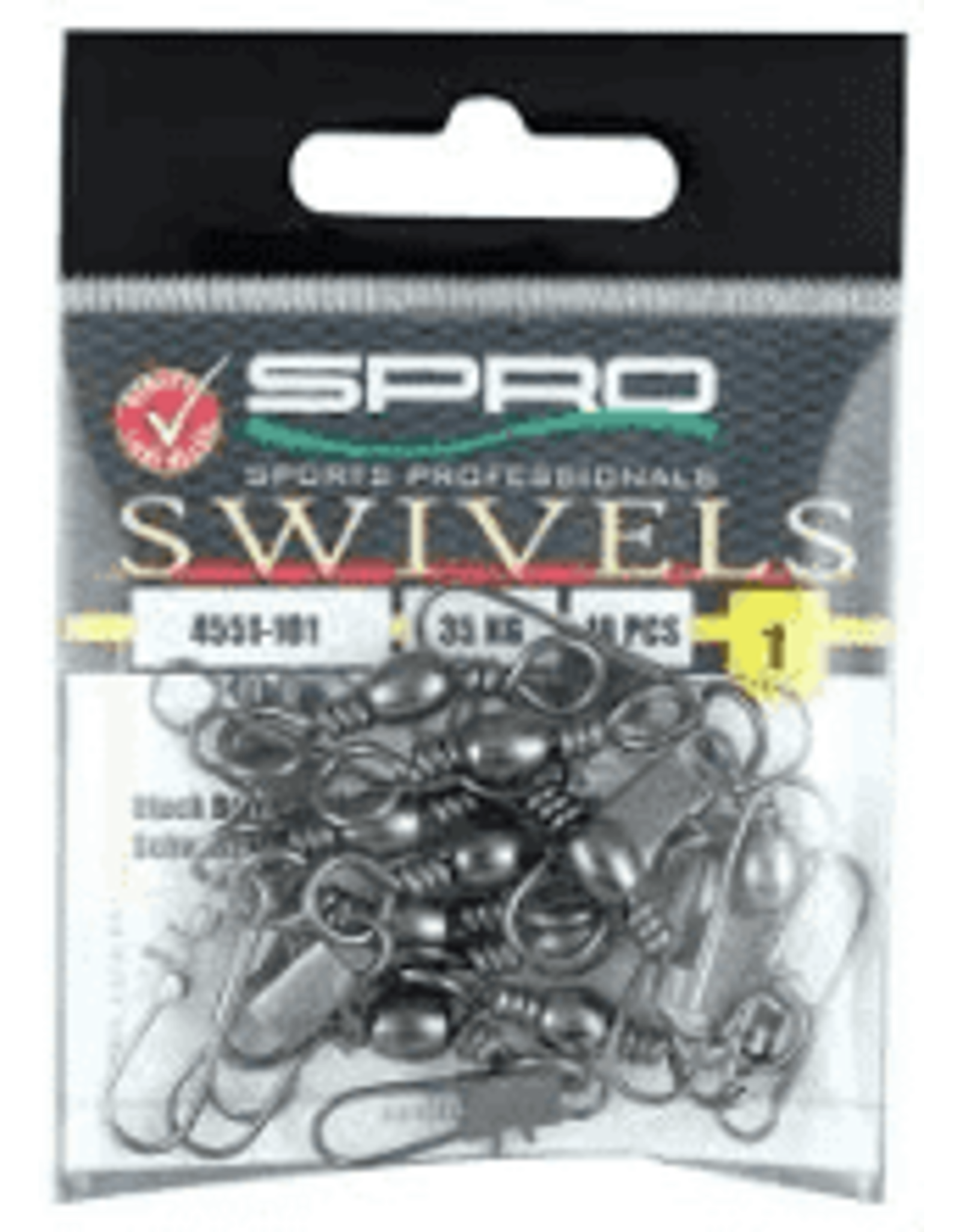 SPRO Spro Barrel Swivel with Interlock Snap