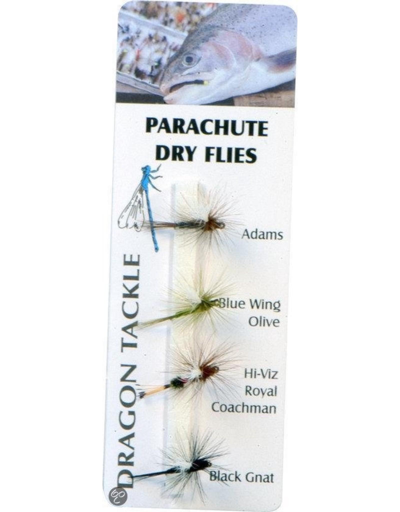 Albatros Secura Parachute Vlieg