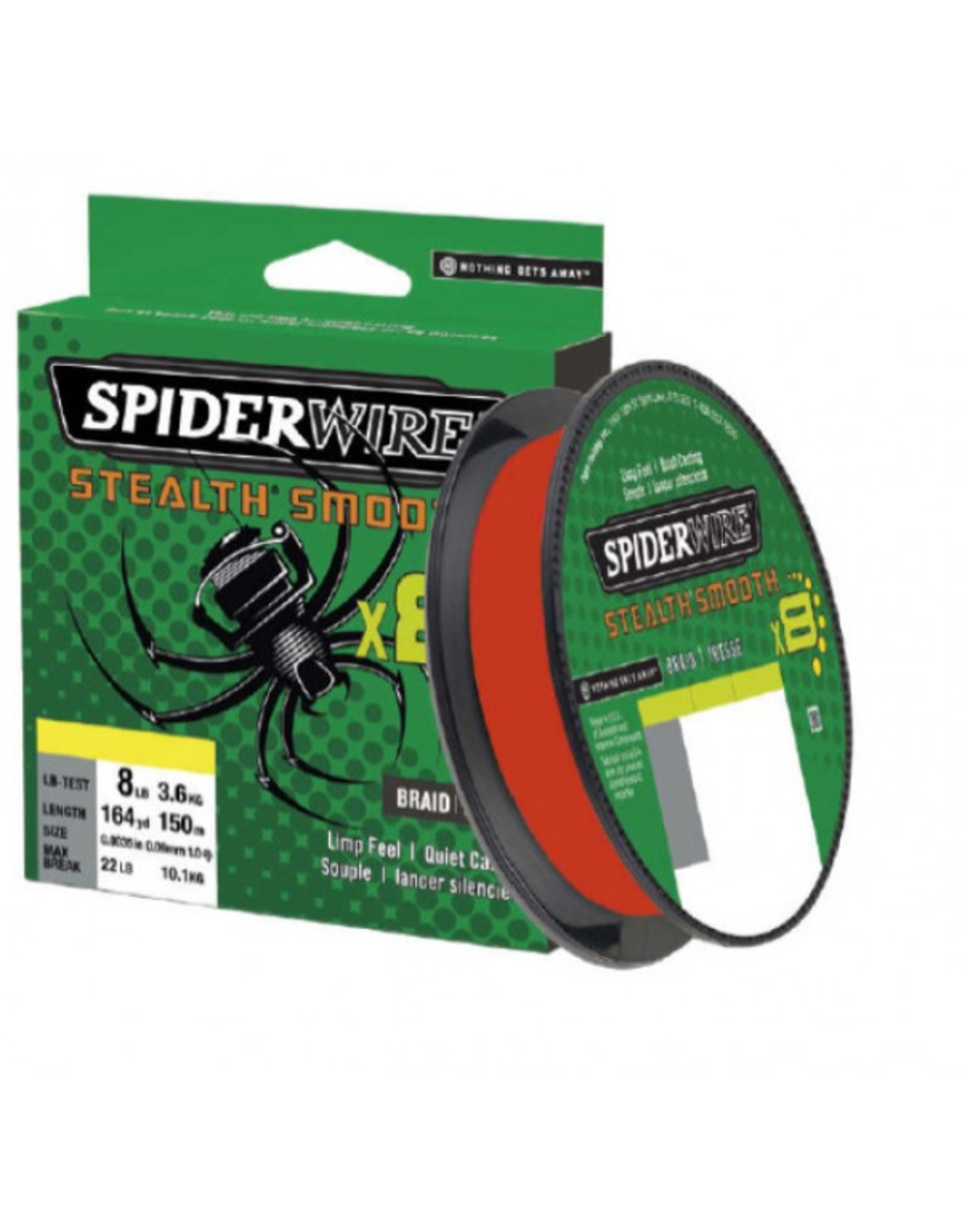 Spiderwire Spiderwire Rood 8x