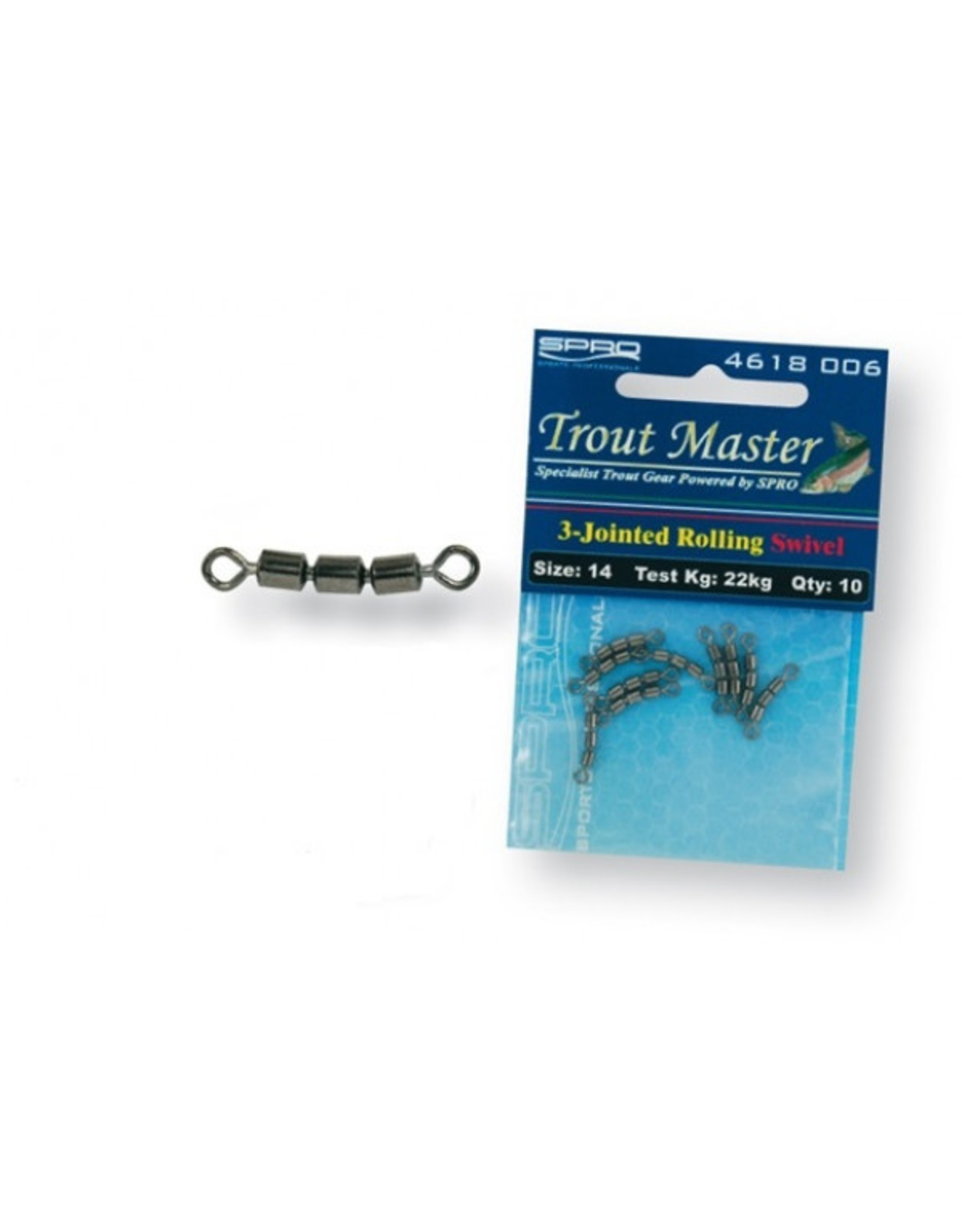 TROMA Spro 3- jointed Rolling Swivel