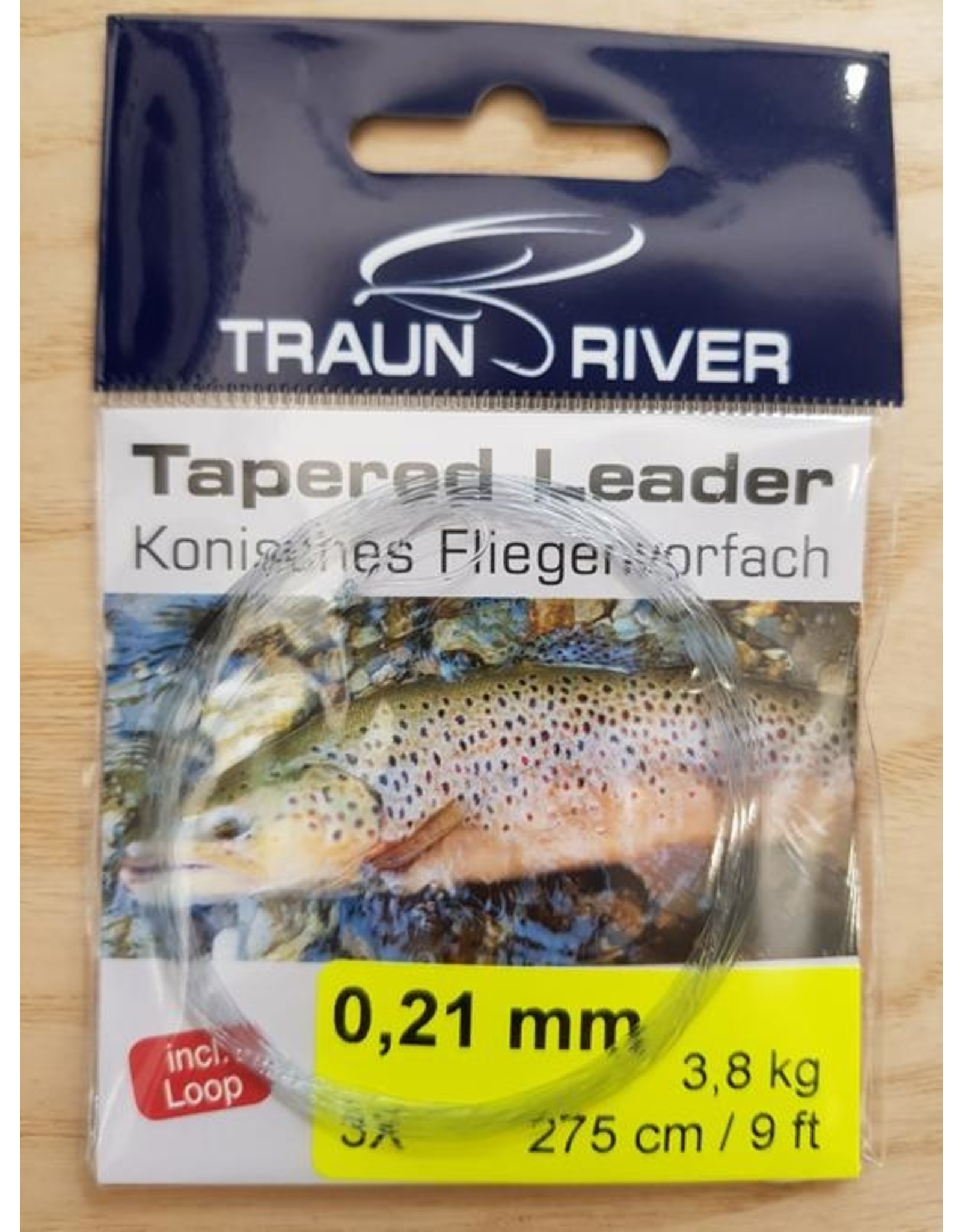 traun river Tapered Leader