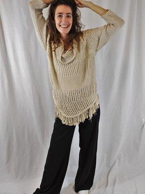 Esprit Sweater croche - cream