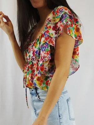 H&M Bloemen top - kleurrijk
