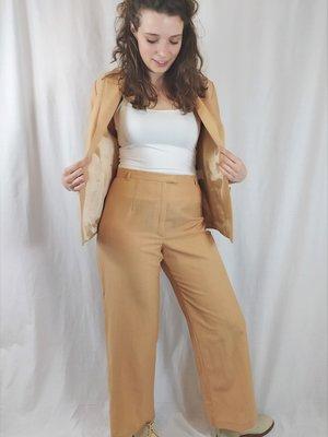 Vittoria verani Vintage pak set - oranje wit patroon