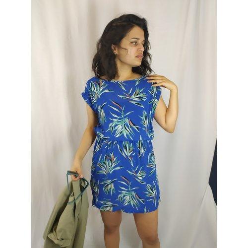 Sissy-Boy Botanical jurk - blauw