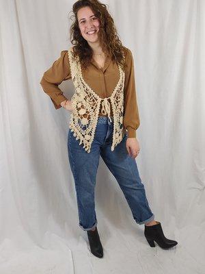 Vero Moda Mom jeans - donker denim (W32\L30)