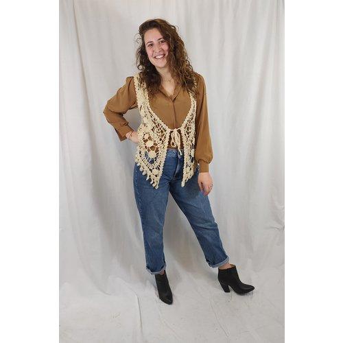 Vero Moda Mom Jeans - dark denim (W32\L30)