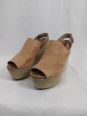 H&M Closed wedges - pink suede