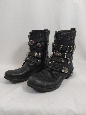 Sacha Cool biker boot - black
